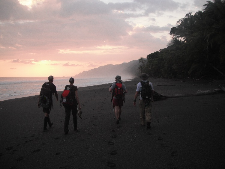 Beach Hiking Osa Peninsula
