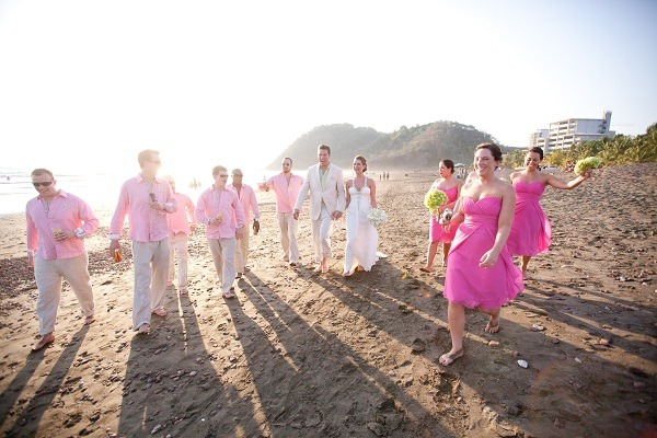Beach Wedding Photos Jaco Costa Rica