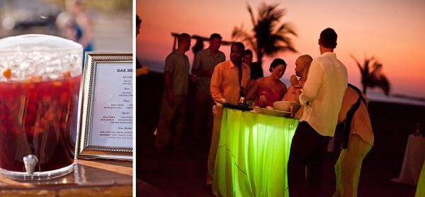 Beach Cocktails Costa Rica Wedding