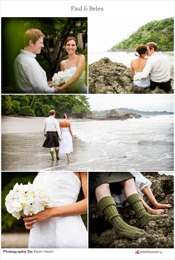 Manuel Antonio Elopement Photos