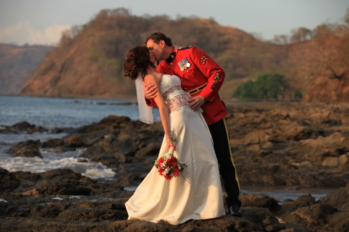 Jennifer and Francois Costa Rica Beach Wedding