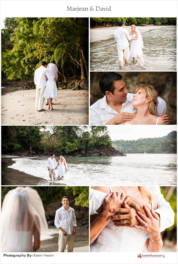 Marjean & David Manuel Antonio Elopement, Costa Rica